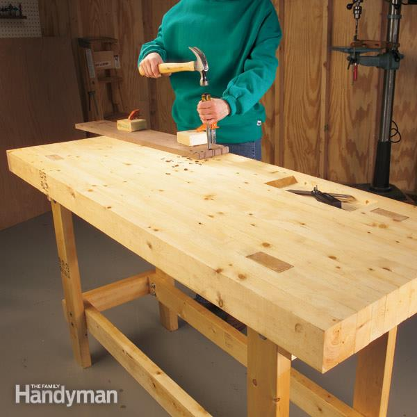How to build a work bench on a budget yates home pro for Building on a budget